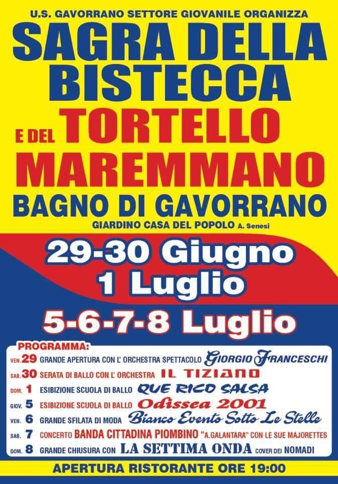 Sagra del Tortello Maremmano e della Bistecca - BAGNO DI GAVORRANO ...
